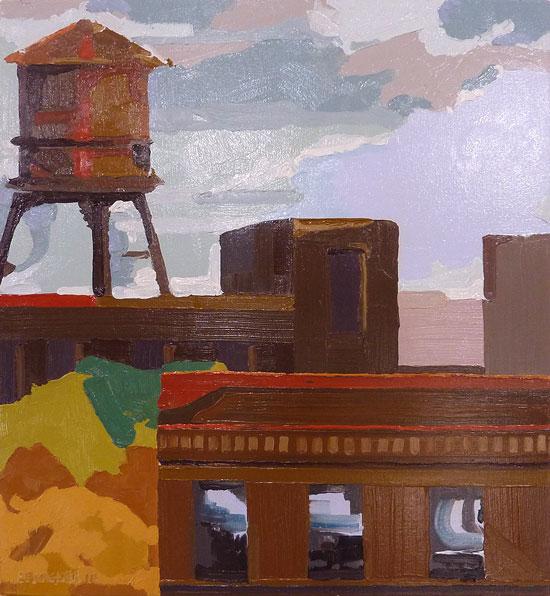 Watertower (2010) by Joseph Spangler