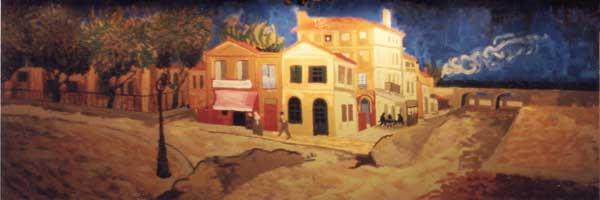 Van Gogh's Yellow House (2001) by Joseph Spangler
