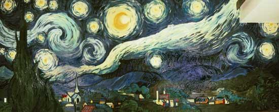Van Gogh's Starry Night (2001) by Joseph Spangler