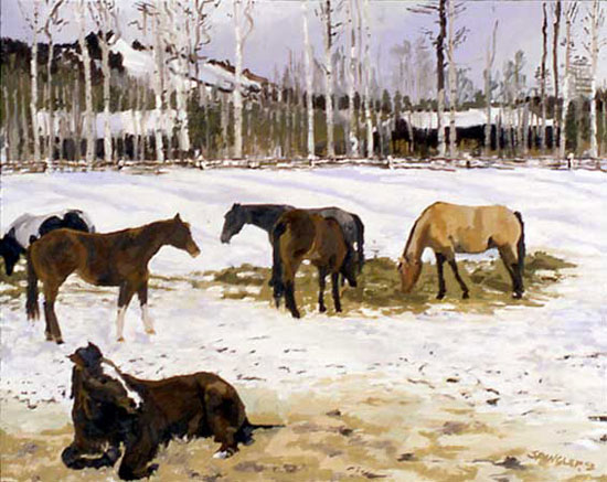 Home Ranch (2003) by Joseph Spangler